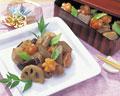 タイトル:おせち料理,根菜の煮しめ