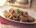 タイトル:イカと大根の煮物