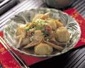 タイトル:里芋とごぼうの煮込み