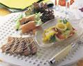 タイトル:シーフードの前菜3種