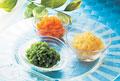 タイトル:野菜ジャム3種(グリンピース・タマネギ・ニンジン)