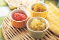 タイトル:野菜ジャム3種(トマト・カボチャ・セロリ)