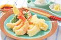 タイトル:エビとイカの天ぷら