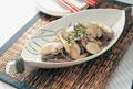 タイトル:牡蠣の味噌炒め