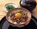 タイトル:納豆ご飯