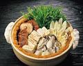 タイトル:牡蠣土手鍋