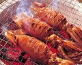 タイトル:イカの姿焼き