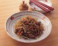 タイトル:牛肉とごぼうの煮物