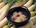 タイトル:大根とタコの含め煮