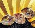 タイトル:正月イメージ(扇子と貝あわせ)