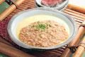 タイトル:茶碗蒸しの挽肉あんかけ