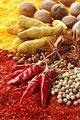 タイトル:赤唐辛子と白胡椒とウコンとナツメグと八角