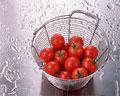 タイトル:山盛りのプチトマト