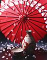 タイトル:徳利とお猪口と傘