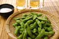 タイトル:枝豆と生ビール