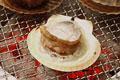 タイトル:ホタテ貝の炭火焼き