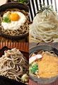 タイトル:麺の集合イメージ・コラージュ