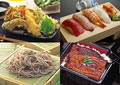 タイトル:定番和食のイメージ・コラージュ