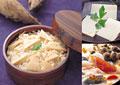 タイトル:和食のイメージ・コラージュ