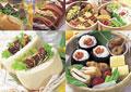 タイトル:弁当のイメージ・コラージュ