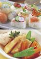 タイトル:和風の惣菜イメージ・コラージュ