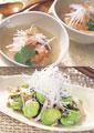 タイトル:アジア料理のイメージ・コラージュ