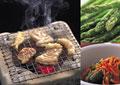 タイトル:焼肉のイメージ・コラージュ