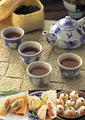 タイトル:中華料理のイメージ・コラージュ