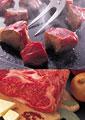 タイトル:ステーキのイメージ・コラージュ