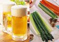タイトル:ビールのイメージ・コラージュ
