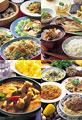 タイトル:世界の料理の集合イメージ・コラージュ