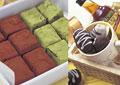 タイトル:チョコレートのイメージ・コラージュ