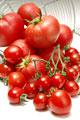 タイトル:トマトとミニトマト