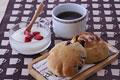 タイトル:パンとヨーグルトとコーヒー