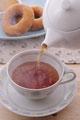 タイトル:紅茶とドーナツ