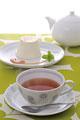 タイトル:紅茶とプリン