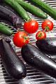 タイトル:ナスとトマトとキュウリ