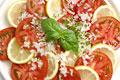 タイトル:トマトとレモンのサラダ