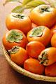 タイトル:3種類の柿