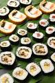 タイトル:6種類の巻き寿司