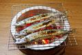 タイトル:サンマの塩焼き