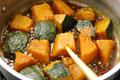 タイトル:かぼちゃの煮物