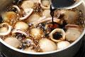 タイトル:里芋とイカの照り煮