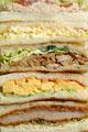 タイトル:一面のサンドイッチ