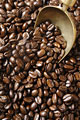 タイトル:一面のコーヒー豆
