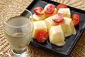タイトル:卵豆腐と白ワイン