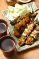 タイトル:焼き鳥と日本酒