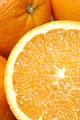 タイトル:オレンジのアップ