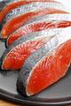 タイトル:鮭の切り身