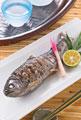 タイトル:ヤマメの塩焼き